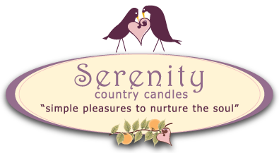 Serenity Country Candles Logo